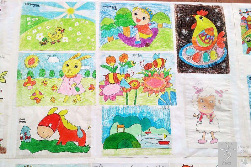学生作品-中牟外国语学校庆2012元旦画展